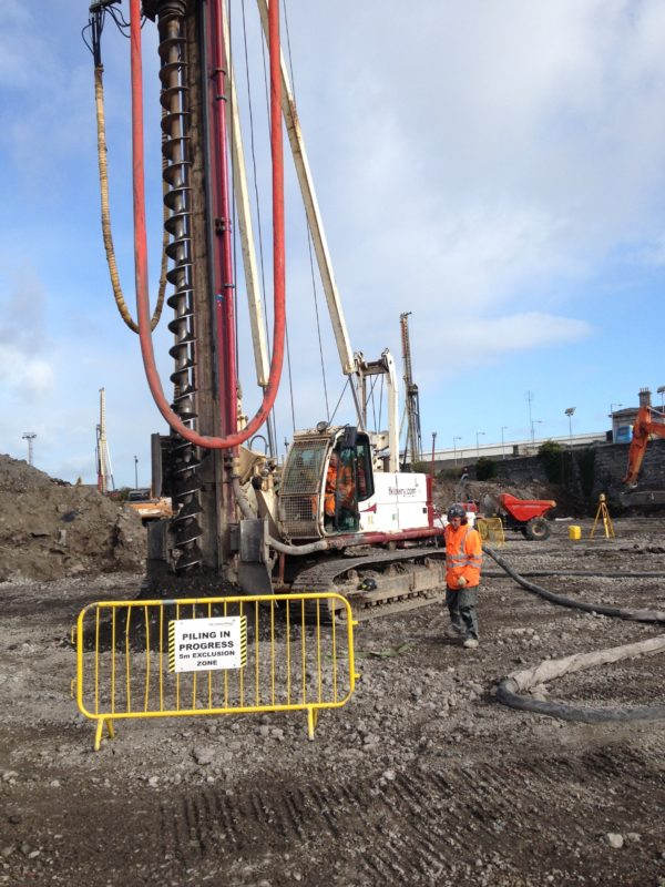 Grangegorman Piling Works