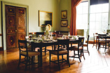 Breakfast Room At Mount Stewart