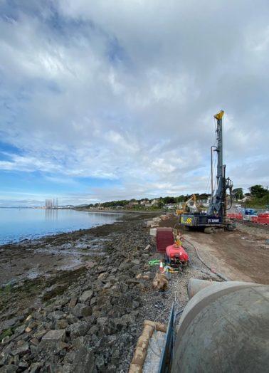 FK Lowry delivers Piling on Scottish Flood Alleviation Scheme