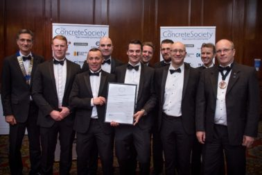 "FK Lowry secured the UK Infrastructure Award for ""Construction Excellence"" at the  NI Concrete Society Awards"
