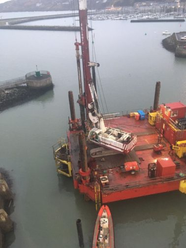 FK Lowry successfully completes another Marine Piling Scheme
