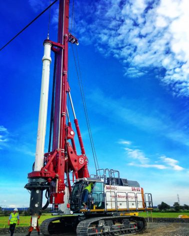 FK Lowry Piling Secures Rotary Bored Piling Contract with Galliford Try