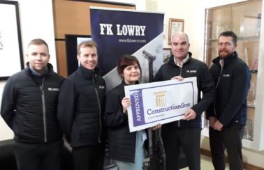 FK Lowry Secures ConstructionLine Gold Award
