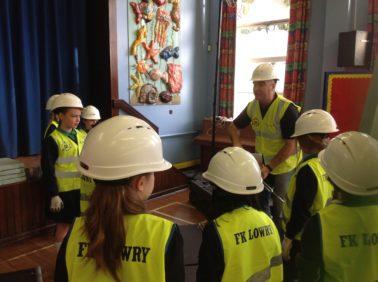 FK Lowry builds ICE Bridge with Local Primary School