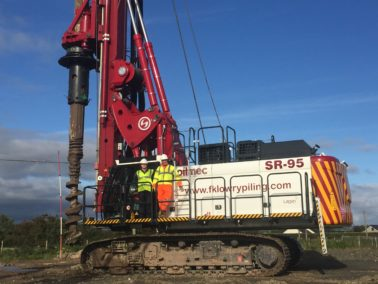 FKL Plant invests in 2nd SR 95 Piling Rig in 6 months