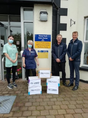 FK Lowry donates much needed PPE to local nursing home