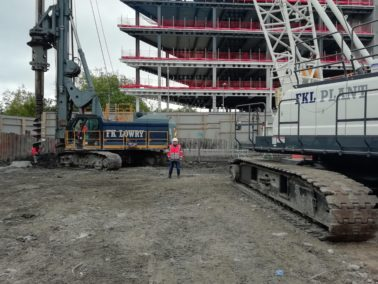 FKL Plant Mobilises New Crane to Dublin Piling Project