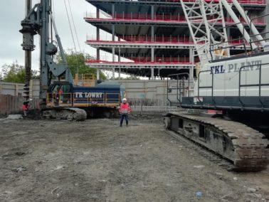FKL Plant Mobilises New Crane to Dublin Piling Project