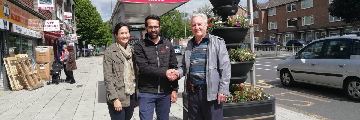 Ruislip Residence Association Planters Donation June 19